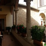 Terrace of the Riccio Suite - (the entrance to the B&B is on the hallway opposite the courtyard)