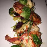 Maine Shellfish Fennel Watercress Citrus & Lobster Beets Brussel Ham Hock