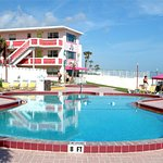 Spacious OceanFront Heated Pool and Kiddie Pool