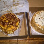 Caramel Pecan and Carrot Cake (small size)