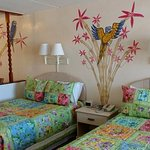 Bright and Cheerful OceanFront Studio #46 with Private Oceanfront Balcony