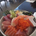 The Chirashi lunch special