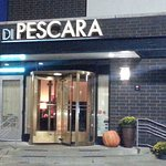 Front of & entrance to Di Pescara