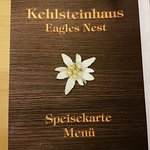 Cover of the German/English menu