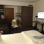 Komfortzimmer sehr geräumig und grosser TV