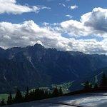 Blick zu den Lienzer Dolomiten