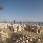 Heute gibt´s Abendessen am Strand