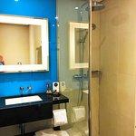 Nice hot shower & amenities