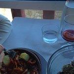 Le plat de chipirons
