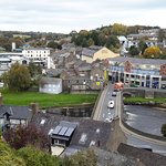 treacys hotel from the top of Enniscorthy Castle,