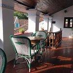 The common varandah on the 2nd floor