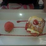Mille feuille fraise