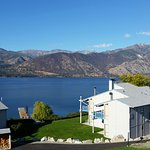 View of Lake Chelan from our condo,