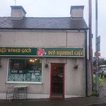 The Red Squirrel Cafe, Anglesey.