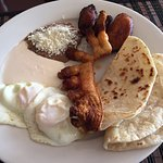 Honduran Traditional Breakfast (Pork Skin version) - Sabor Latino, Sarasota FL