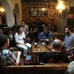 Local trad music in O'Connors Pub, just steps away