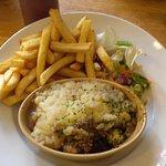 The shepherd's pie. DELICIOUS!