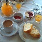 Desayuno casero