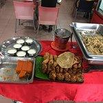 Food Variety - 02, Vegetable Biryani, Vada, Sweets