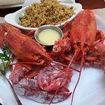 Happy 30th Anniversary Pappadeaux!!! Loving the 2 lobsters for $30!