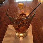 Cocktail at the bar...