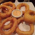 Onion rings, I would skip them next time. Tempura style.