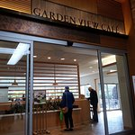 Entrance to the Garden View Cafe at the Chicago Botanic Gardens in the visitor center