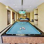 Pool Table at Health Club