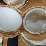 Great coconut jelly & smoothies