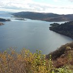 At the Tighnabruaich lookout