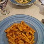 Delicious pasta mains