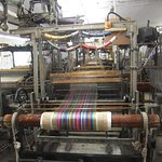 A loom in operation