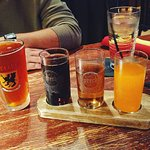 Beer and Soda Flight