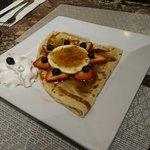 Creme Brulee Dessert Crepe - absolute heaven!