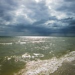 Storm rolling in over the Gulf of Mexico