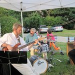 """""""Seasmoke"""" from Kittery entertain us at opening receptions."""