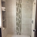 Shower in Tara Suite bathroom