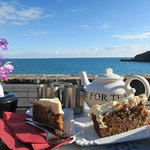 Tea for two with a view