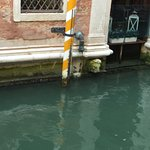 Flower box Back canals of Venice