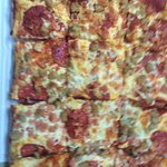 Detroit style pizza pick your own toppings