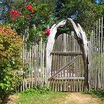 Gate to the garden.