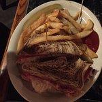 Reuben sandwich.