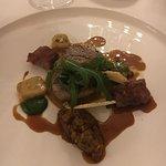 Filet mit Ratatouille und Saltimbocca