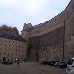 Entrée au château et hotel