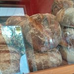 Breads on display