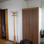 wardrobe and washroom door