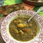 A beautiful lentil curry.