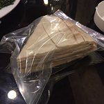 This is how they delivered their terrible bread. So lazy and such poor quality!