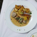 Pork Filet with Dijon Mustard Sauce