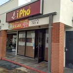 Exterior of iPho in Fullerton, CA